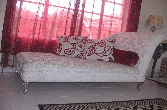 Re-upholster chairs, lounge suites etc
