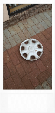 TOYOTA 14 INCH STEEL RIM COVERS