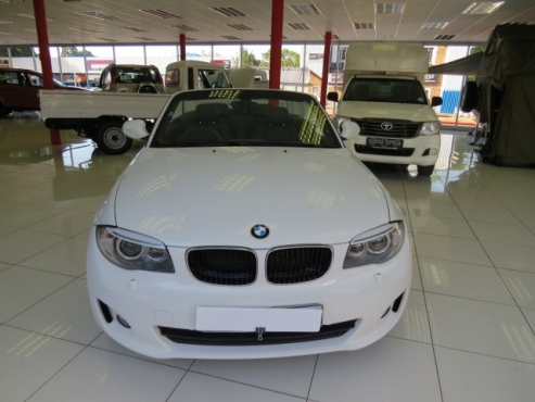 BMW 1 Series 120i Convertible A/T