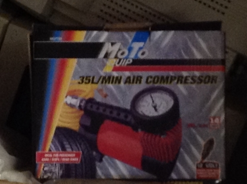 Compressor air BRAND NEW 35l/min Moto Quip