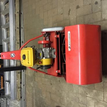 Robin professional 5.0hp ey20 4stroke roller lawn mower