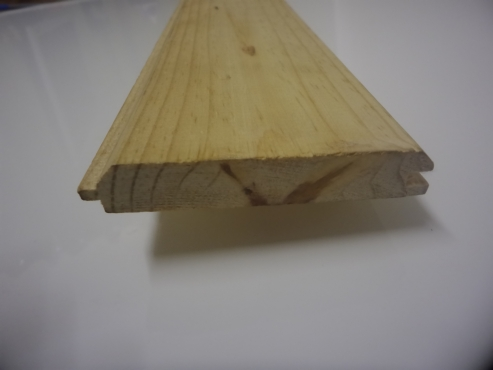 KNOTTY PINE TONGUE AND GROOVE