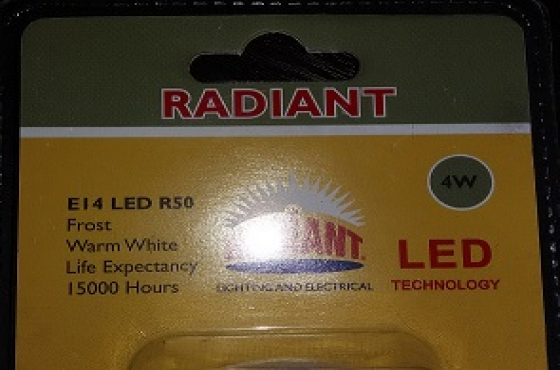 4W E14 LED R50 Frost WW - Selling at cost - Selling at cost