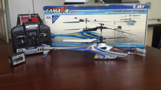 Amazing RC helicopter for sale, fully functional