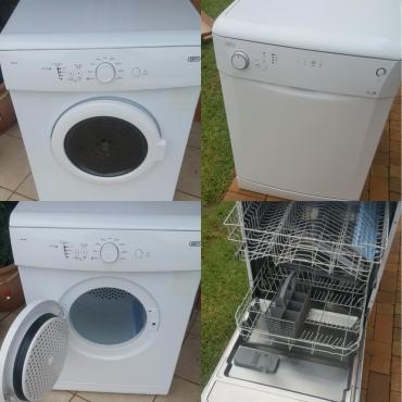 Defy Dishwashing machine Defy Tumble dryer