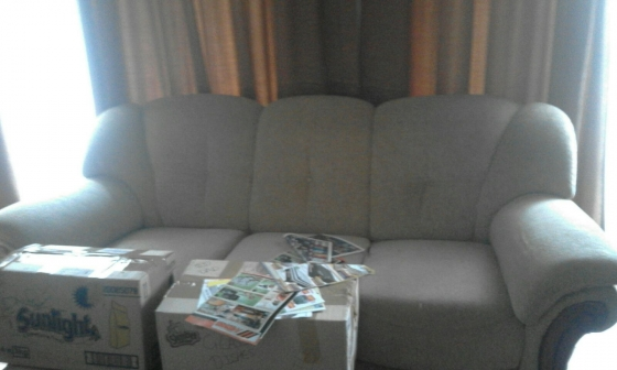 Lounge Suite and TV Cabinet Urgent Sale