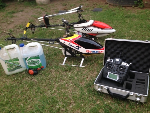 Align 3D TREX 600 Helicopter + Spare