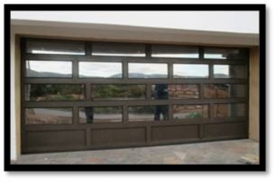 Aluminium garage doors windows sliding doors junk mail for Garage door motors prices south africa