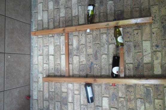 Handmade Origin Wine Rack