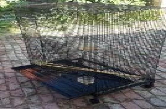 foldup bird cage (price neg.)