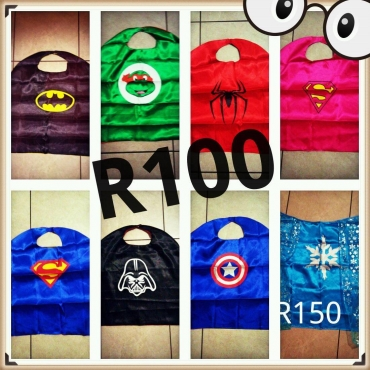 Superhero capes te koop