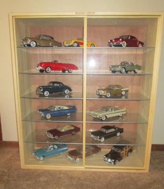 Models Display Cabinets Cars Trains Etc Dust Free