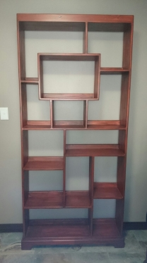 Stunning Custom Made Bookshelves