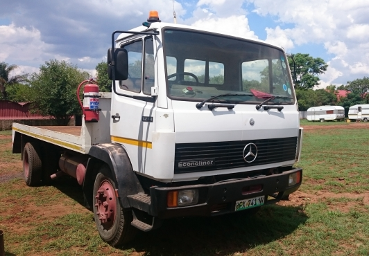 1997 Mercedes-Benz 1214 Econoliner Flat Deck Truck for sale