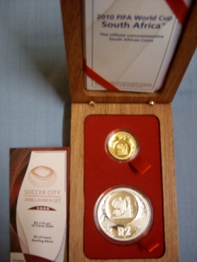 Gold and Silver Launch Coin Set