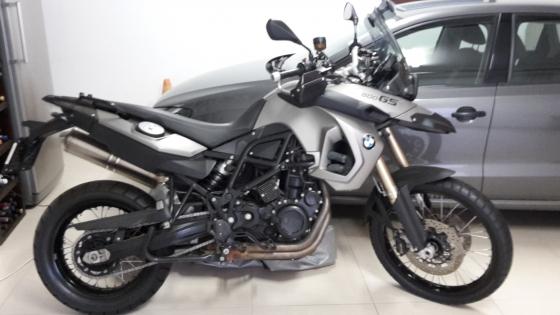 BMW F800 GS Motorbike