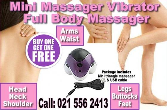 Hand held Mini vibrator Massager Full Body Vibrator massager