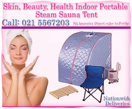 The Portable Steam Sauna