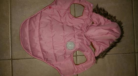 Doggy jacket.