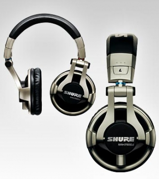 SHURE PROFESSIONAL DJ HEADPHONES