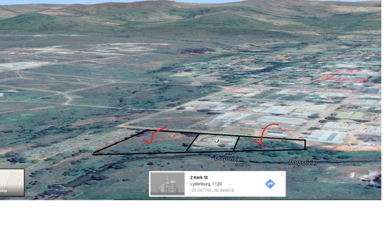 LYDENBURG ZONED LAND BUSINESS 1