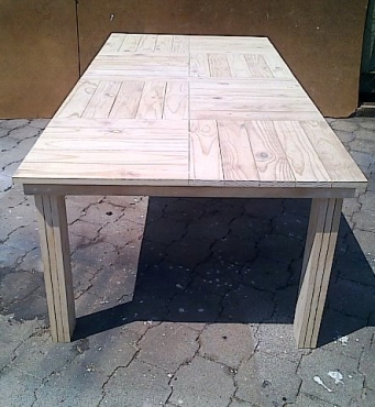 Patio table Cottage series 2400 Raw