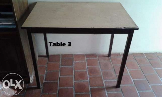 Three great table for sale