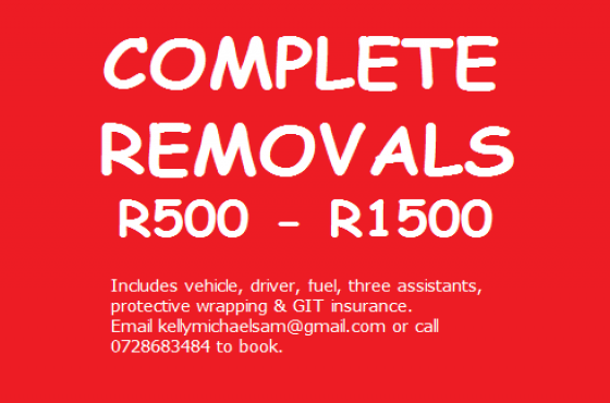 Complete furniture removals