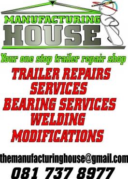 Household trailer repairs