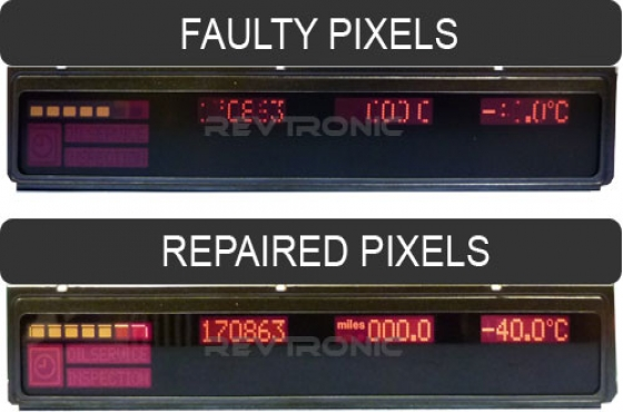 Bmw E39 or E53 pixel display repair service