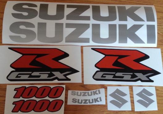 Suzuki GSXR K model decal sticker kits