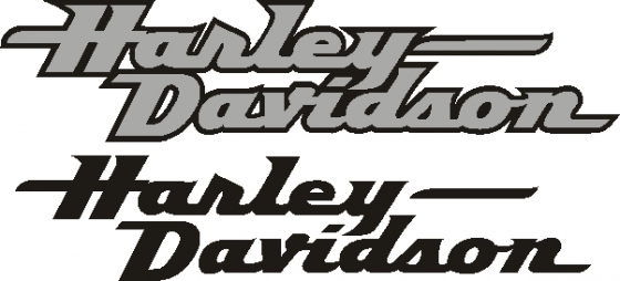 Harley Daidson tank and fairing graphics decals stickers