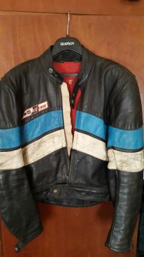 Dainese Retro leather jacket