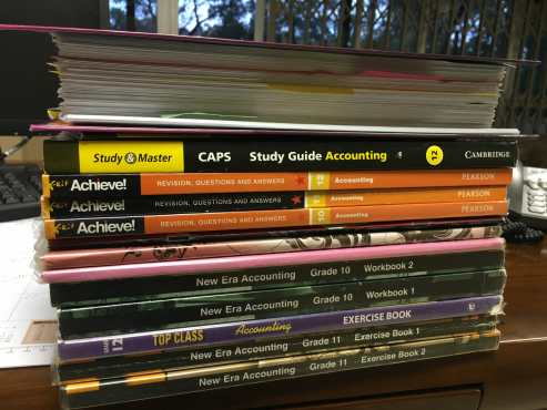 GRADE 10-12 ACCOUNTING STUDY GUIDES & NOTES & PAST PAPERS | Junk Mail