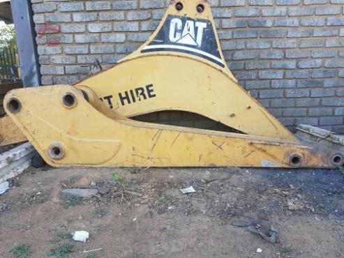 CAT 428B boom