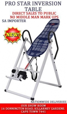 Affordable Quality therapy inversion table