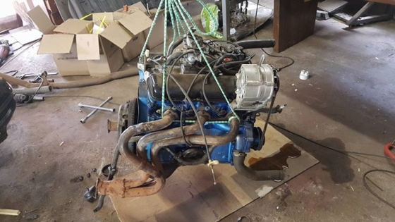 Ford Cortina Mk5 3 0l V6 Drive Train Junk Mail