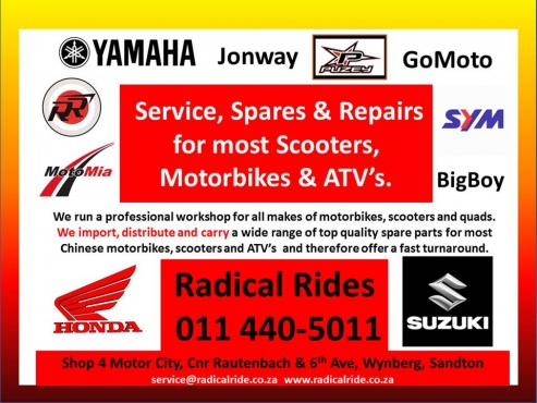 Scooter and Motorcycle Service