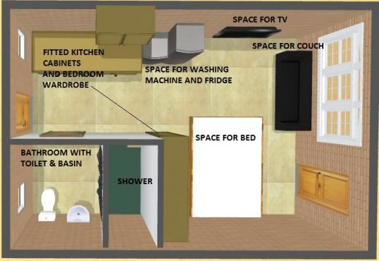 1xbedroom platelet