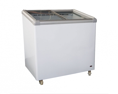 Glass Top Freezer B/
