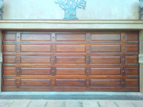 Revamp a Door With Decorative Resin Studs