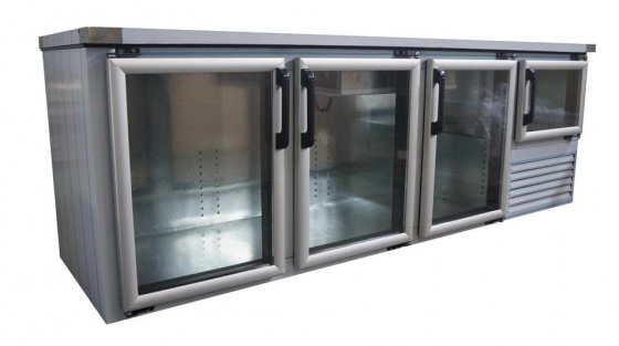 GLASS DOOR UNDERBAR FRIDGES B/NEW