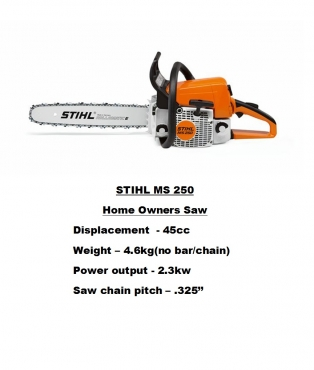 85df686f0c1 Stihl MS 250 Chainsaw