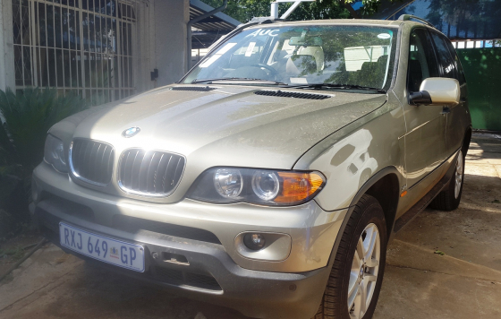 BMW E53 X5 3.0D 2006