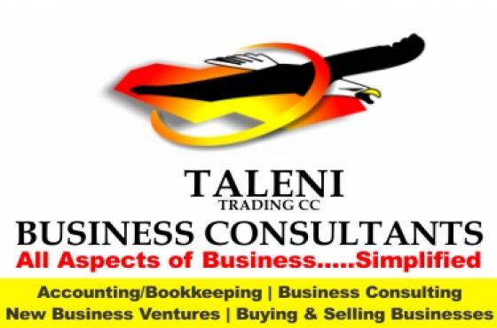 Bookkeeping Services  Offered - Gauteng