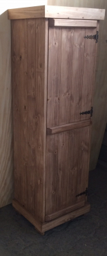 Kitchen Cupboard Farmhouse series Free standing 1800 for Broom Stained