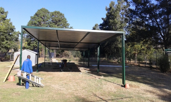 carport installation