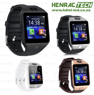 HZ12 - Smart Phone Watch with micro SIM and SD card, Bluetooth