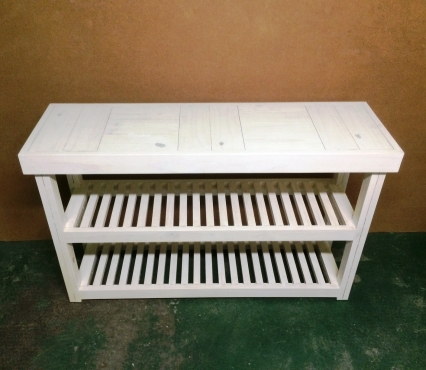 Server Farmhouse series 1300 Slimline White washed