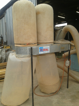 Dust Extraction: CORAL, Dust Extraction Filter, 2-bag, 2.2 kW